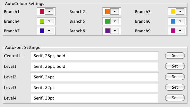 AutoMap Options