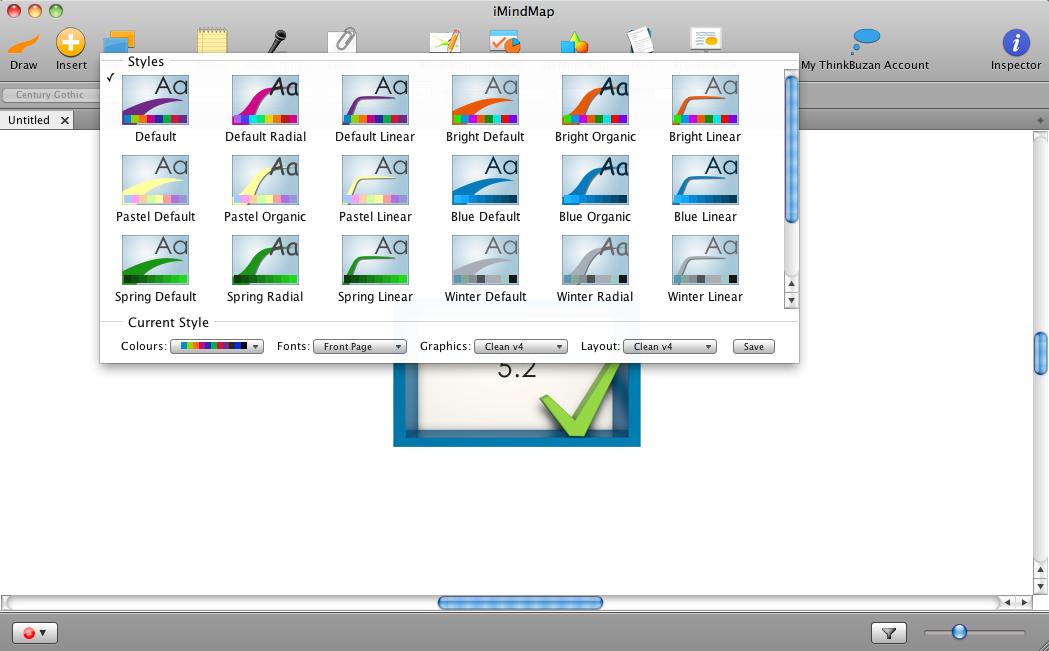 iMindMap 5.2 - Styles