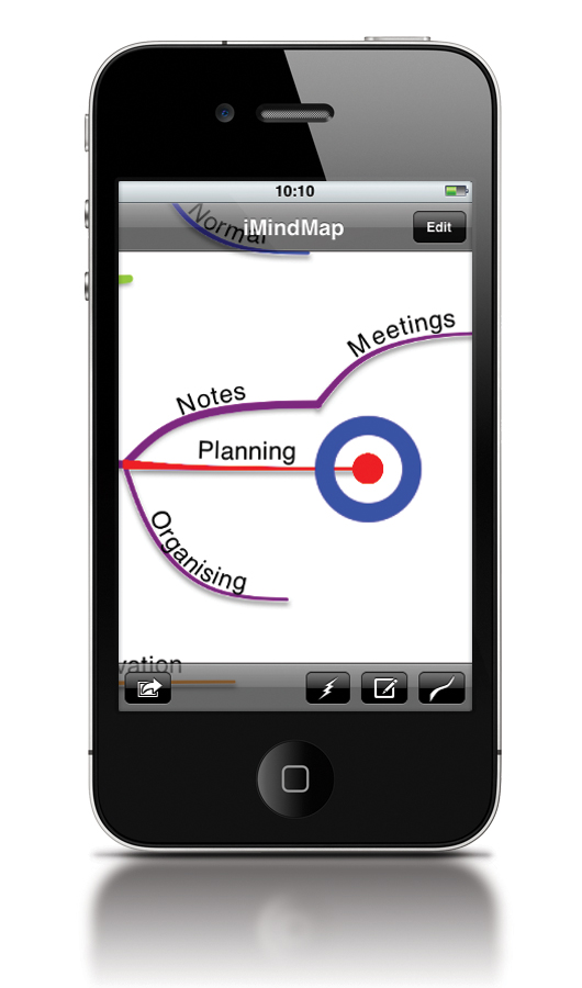 iMindMap Mobile Pro for the iPhone